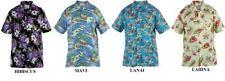Camicie casual e maglie da uomo hawaiiani multicolori