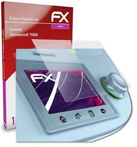 atFoliX Glasfolie für Vorwerk Thermomix® TM5® Panzerfolie 9H Schutzpanzer