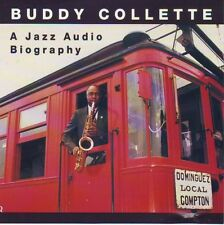 A Jazz Audio Biography by Buddy Collette (2 CDs)  SIGNED BY BUDDY!!!
