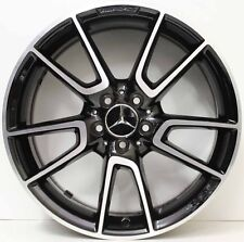 19 inch GENUINE MERCEDES BENZ AMG C43 2017 MODEL W205 WIDE PACK ALLOY WHEELS