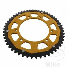ZF Dual Gold Rear Sprocket (52 Teeth) Gilera SMT 50 Supermotard 2003-2004