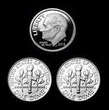 2012 P+D+S Roosevelt Dime ~ Clad Gem Proof ~ PD Uncirculated