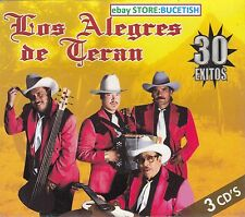 Los Alegres de Teran 30 Exitos En vivo 3CD New Nuevo sealed BOX SET