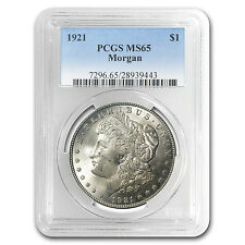 1921 Morgan Dollar MS-65 PCGS - SKU #4737