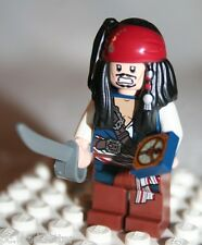 Lego JACK SPARROW MINIFIGURE from Pirates of Caribbean Fountain of Youth (4192)