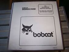 BOBCAT X 225 EXCAVATOR SERVICE MANUAL S/N 508312000 & ABOVE