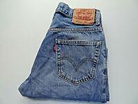 """W30 L30 LEVIS 550 Mens Jeans Relaxed Fit Blue Denim SIZE Waist 30"""" Leg 30"""""""