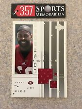 2000 UPPER DECK GRADED JERRY RICE GAME USED JERSEY HOF GOAT SAN FRANCISCO 49ERS