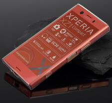 Sony Xperia XZ1 Compact Handytasche Flexible Silicon Case Cover TOP Handyhülle