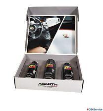 Cofanetto Kit Car Care 3 Pezzi Abarth Prodotti di Manutenzione Pulizia Estetica