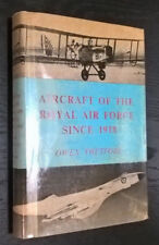 Aircraft of the Royal Air Force Since 1918 Owen Thetford DENSE BOOK **wow**