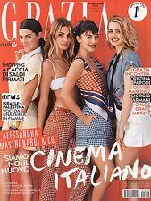 Grazia 2014 29.Alessandra Mastronardi,Olivier Martinez,Cristina Parodi,G.Armani