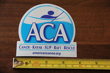 AMERICAN CANOE ASSOCIATION ACA Sticker Decal NEW