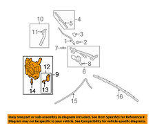 Infiniti NISSAN OEM G37 Wiper Washer-Windshield Fluid-Reservoir Tank 289101NF0A