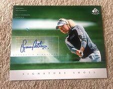 2004 SP Signature Shots Golf 8 x 10 SUZANN PETTERSEN AUTO Autograph LPGA!  👀 ⛳