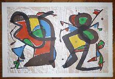 Joan Miro gravure sur velin art abstrait abstraction surréalisme Miro graveur