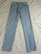 Wrangler 13MWZGH Faded Denim Jeans Tag Size 33x38 Measure 33x38 Cowboy