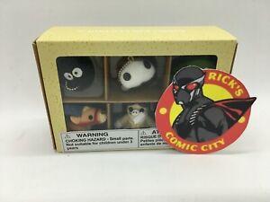 STUDIO GHIBLI COLLECTOR PLUSH KEYCHAIN BOX SET SERIES 1 Jiji Totoro Porco Rosso