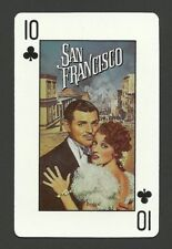 San Francisco Clark Gable Jeanette MacDonald MGM Movie Collector Playing Card