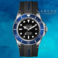 ANCON SEA SHADOW III MAGNUM DIVER WATCH SEA312 NEW IN BOX INTERNATIONAL SHIPPING