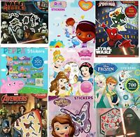 Childrens Stickers Kids Craft Characters Disney Star Wars Frozen Bag Fillers
