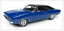 1968 Dodge Charger Hardtop Christine blau In 1 18 Auto World ERTL Awss111 Blue