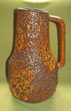 Fat Lava  Vase Keramik Simon Peter Gerz; Orange