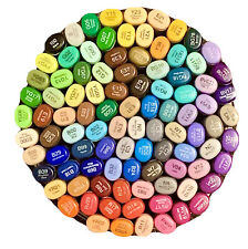 🔥NEW🔥Copic Sketch Markers🎨HUGE Lot of 95! 🌈NO DUPLICATES! 🖍Made in Japan