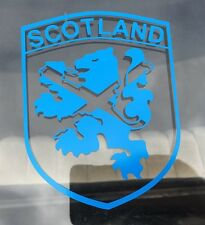 Scotland Lion Rampart Vinyl Sticker Decal Flag Shield Blue Outdoor Scottish