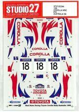 STUDIO27 1/24 TOYOTA COROLLA WRC#18 Australia '99 for TAMIYA DC-344 Decal