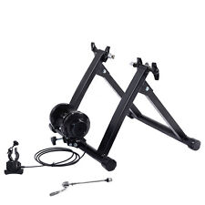 Indoor Bike Trainer Portable Exercise Bicycle Magnetic Stand Cycling Fitness