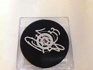 Dustin Byfuglien Signed Hockey Puck Winnipeg Jets Autographed b