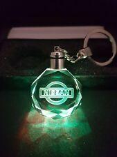 Nissan Voiture Porte-Clés Cristal Lumière DEL Cadeau Pochette Keychains Micra Juke Qashqai GTR