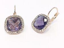 Orecchini in cristallo pendenti a monachella vari colori anallergici orecchino c