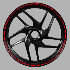 Adesivi cerchi moto Ducati Monster 1199 1198 899 848 wheel strip sticker  mod.1