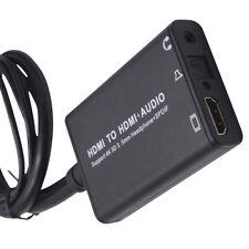 HDMI/USB To HDMI+AUDIO/SPDIF+R/L Converter Extractor Splitter Signal Separator