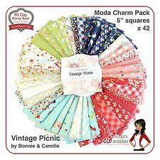 Moda Charm Square Vintage Picnic by Bonnie and Camille