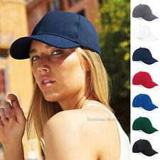 Baseball Cap Ultimate 6 Panel Mens Womens Hat Curved Peak With Ventilation Holes
