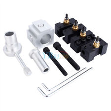 Mini Lathe Quick Change Tool Post & Holders Multifid Tool Holder Kit for Table