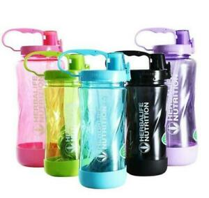 2020 New Herbalife 1000ml Large Water Bottle 32OZ Space Sports Straw Cup Bottle