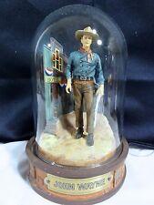 "Franklin Mint "" John Wayne "" Domed Figurine #2"
