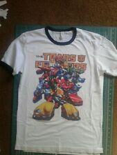 Transformers Autobots Minibots Retro Ringer Adult T-Shirt Large