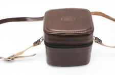 Original Leica #1 Leitz Rockleigh Brown Leather Lens Case - for R, M, or SM Lens