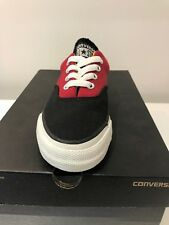 CONVERSE Chuck Taylor Unisex Skid Grip CVO Ox Trainers Black/Red UK 3