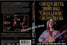 DICKEY BETTS,JIMMY HALL,CHUCK LEAVELL,BUTCH TRUCKS. LIVE AT THE COFFEE POT 1983