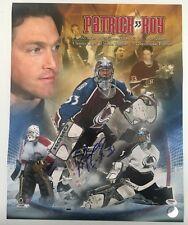Patrick Roy Signed Autographed 16x20 Colorado Avalanche HOF Photo PSA/DNA COA