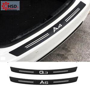 Carbon Fiber Bumper Sticker For Audi A1 A3 A4 A5 A6 A7 A8 Q1 Q3 Q5 Q7 TT B5 B6