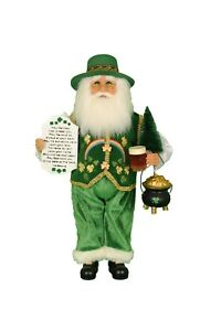 KAREN DIDION ORIGINALS THE IRISH GREEN SANTA CC16-176