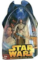 STAR WARS Revenge Of The Sith OBI-WAN KENOBI #27 Jedi Kick Action SEALED