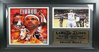 Lebron James Miami Heat NBA Basketball,50 cm Wandbild,Memorabilia,NEU !!